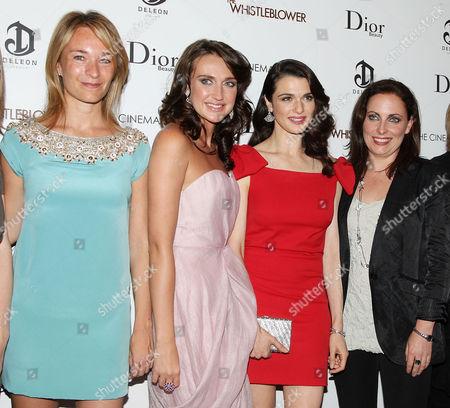 Celine Rattray, Anna Anissimova, Rachel Weisz and Eilis Kirwan