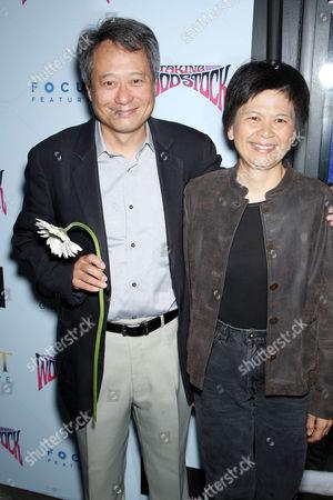 Ang Lee and Jane Lin