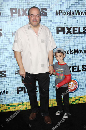 David Zayas and son David Zayas Jr.