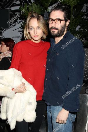Stock Photo of Leelee Sobieski and Adam Kimmel