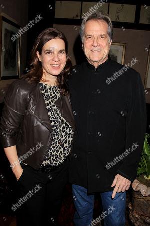 Katarina Witt and Stephen Hannock