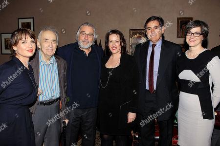 Editorial picture of Tribeca Film Institute Robert De Niro Sr. Prize, New York, America - 11 Jan 2016