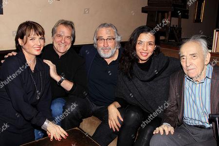 Liz Kresch,Stephen Hannock, Robert De Niro, Drena De Niro, Al Kresch,
