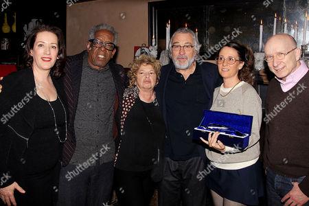 Editorial photo of Tribeca Film Institute Robert De Niro Sr. Prize, New York, America - 11 Jan 2016