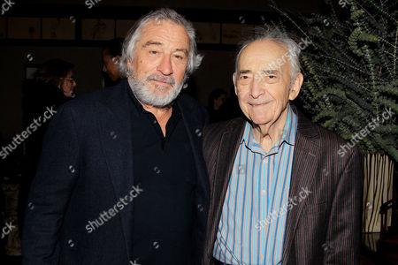 Stock Image of Robert De Niro and Al Kresch