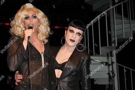 Sherry Vine and Joey Arias