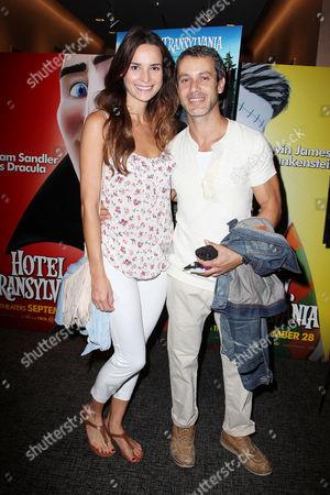 Stock Photo of Laetitia Queyranne and Andrew Lauren