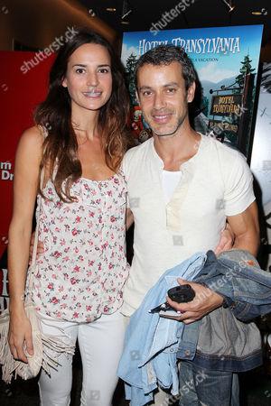 Stock Image of Laetitia Queyranne and Andrew Lauren