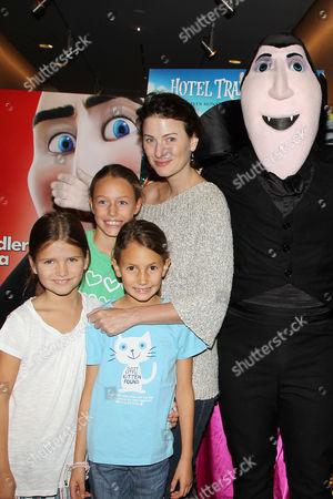 Marina Rust with family