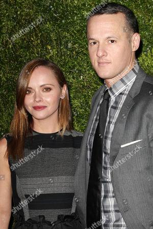 Christina Ricci and Alejandro Ingelmo