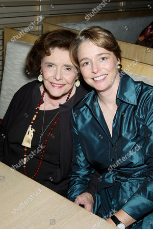 Patricia Neal with daughter Ophelia Dahl