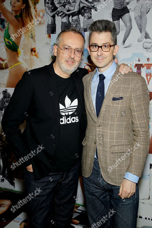 Jim Moore (GQ Creative Director), Michael Hainey (Deputy Editor GQ)
