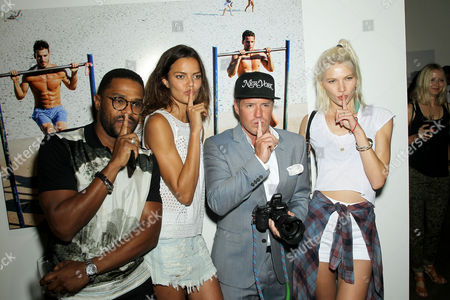 Maxwell, Barbara Fialho (Model), Ben Watts, Aline Weber (Model)