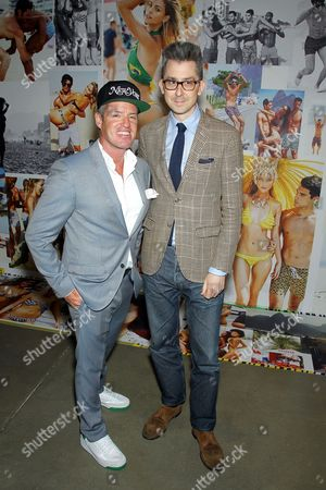 Ben Watts, Michael Hainey (Deputy Editor GQ)