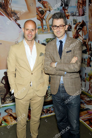 Chris Mitchell (Vice Pres. Publisher GQ) , Michael Hainey (Deputy Editor GQ)