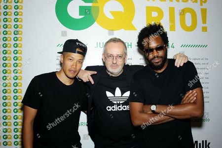 Dao-yi Chow, Jim Moore (GQ Creative Director), Maxwell Osborne