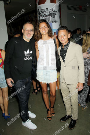 Jim Moore (GQ Creative Director), Barbara Fialho, Jim Nelson (Editor-in-Chief of GQ)
