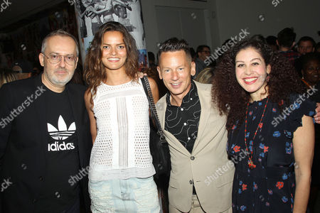 Jim Moore (GQ Creative Director), Barbara Fialho, Jim Nelson (Editor-in-Chief of GQ), Guest