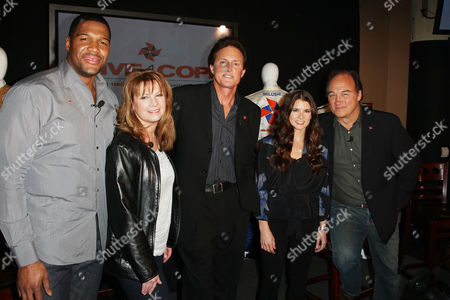 Michael Strahan , Patty Loveless, Danica Patrick , Bruce Jenner