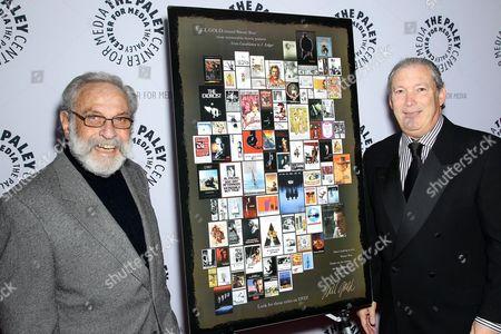 Bill Gold (WB Film Poster Designer) and Jeff Baker (WB Home Ent. Exec. VP)