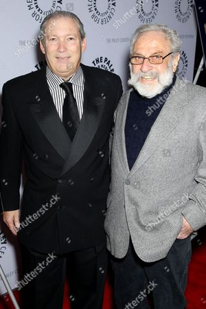 Jeff Baker (WB Home Ent. Exec.VP) and Bill Gold (WB Film Poster Designer)