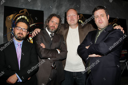 Stock Image of Seth Kramer, Daniel A. Miller, David Giegold, Jeremy Newberger