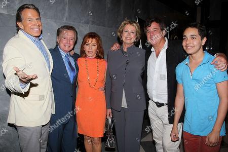 Bill Boggs, Regis Philbin, Joy Philbin, Richard Bey, Kyle Silva
