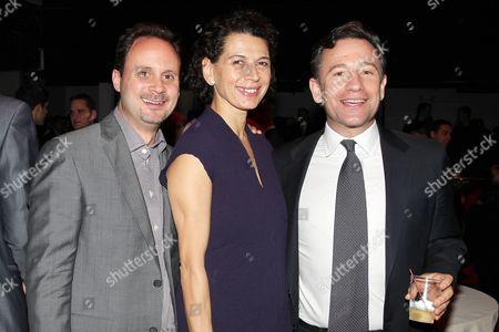 Mike Knobloch, Donna Langley and Josh Goldstine
