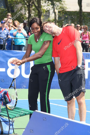 Venus Williams and Justin Gimelstob