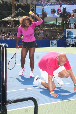 Serena Williams and Murphy Jensen