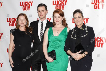 Samantha Bryant, Colin Hanks, Elizabeth Hanks and Rita Wilson