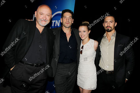 Frank Darabont, Jon Bernthal, Guest and Milo Ventimiglia