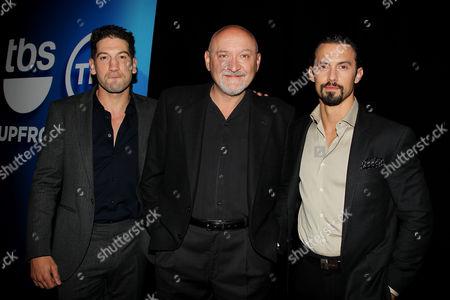Jon Bernthal, Frank Darabont and Milo Ventimiglia