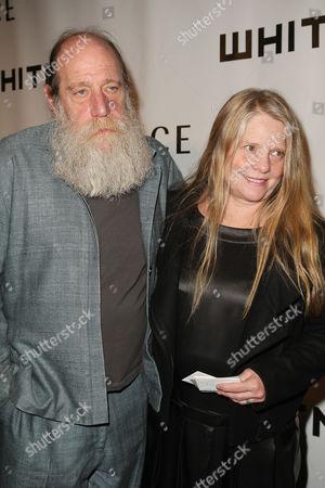 Lawrence Weiner and Alice Weiner