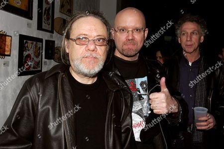Tommy Ramone, John Holmstrom and Bob Gruen
