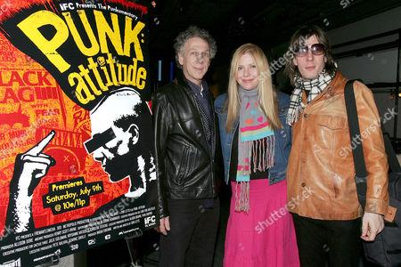 Bob Gruen, Bebe Buell with her husband Jim Wallerstein