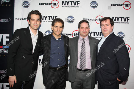 Jason Richman (Executive Producer), Michael Imperioli, David Zabel (Executive Producer) and Terence Gray (Festival Founder and Executive Director of New York Television Festival)