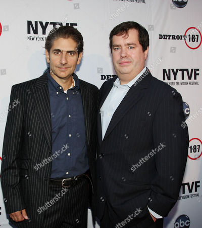 Stock Image of Michael Imperioli and Terence Gray (Festival Founder and Executive Director of New York Television Festival)