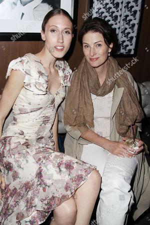 Anna Cleveland and Marina Rust
