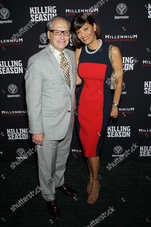 Stock Picture of Jerry Inzerillo with wife Prudence