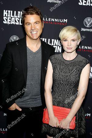 Mark Steven Johnson (Director) and Elizabeth Olin