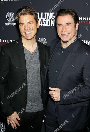 Mark Steven Johnson and John Travolta