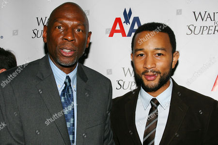 Geoffrey Canada (President & CEO of Harlem Children's Zone) and John Legend