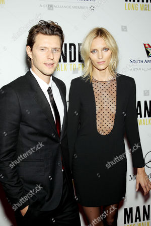 Sasha Knezevic and Anja Rubik