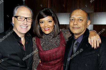 Jerry Inzerillo, Prudence Inzerillo, Anant Singh (Producer)