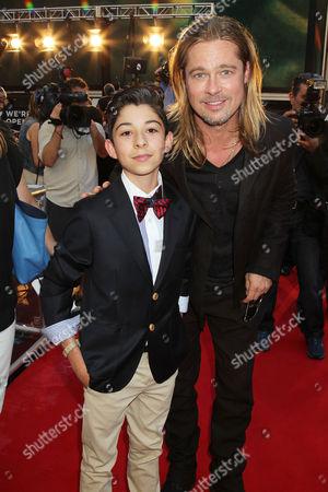 Fabrizio Zacharee Guido and Brad Pitt