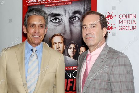 Charles S. Cohen (Founder & Pres. Cohen Media Group), Harry Markopolos (Author)