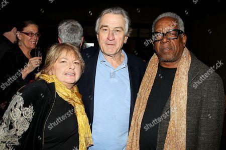 Joyce Pensato, Robert De Niro and Stanley Whitney