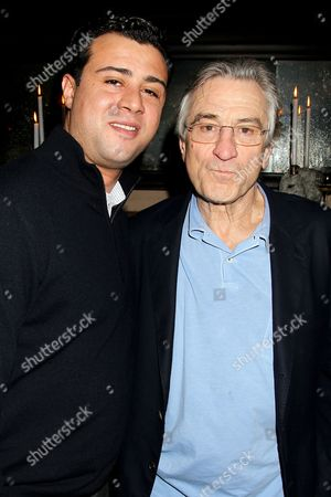 Stock Picture of Raphael De Niro and Robert De Niro