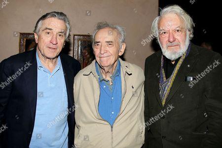 Editorial picture of 2nd Annual Robert De Niro Prize Reception, New York, America - 22 Jan 2013